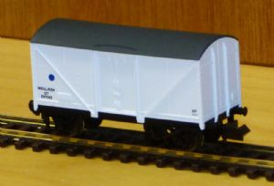 Dapol 2F-019-006 Blue Spot Fish Van No.E87675